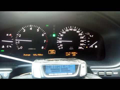Контроллер пневмы Lexus LS 430