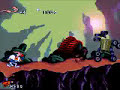 Earthworm Jim (SNES) Stage 1 - New Junk City