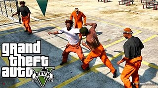 getlinkyoutube.com-GTA 5 MODS - EPiSODE 1  - PRiSON LiFE - First Gang (GTA 5 PC PRISON MODS)