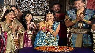 getlinkyoutube.com-Chandra Nandini Cast Celebrates 100 EPISODES | MUST WATCH