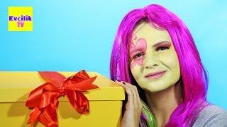 getlinkyoutube.com-My Little Pony MLP Fluttershy Dev Sürpriz Oyuncak Kutusu 7 - Evcilik TV