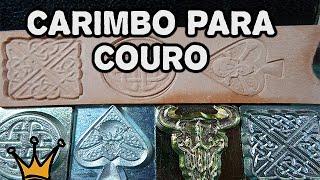 getlinkyoutube.com-Carimbo para Couro - Ferramenta para Trabalho em Couro