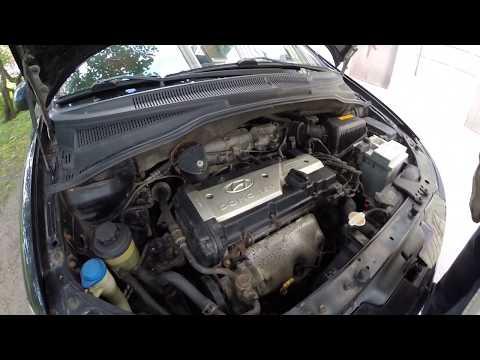 HYUNDAI GETZ 1.4 Звук работы двигателя. Engine Sound