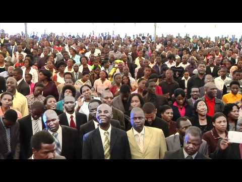 Uri Gamba (You Are A Warrior) - Bro. Bothwell Chikosi-Zimbabwe Worship-Dec 2011.m4v