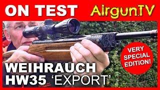 getlinkyoutube.com-ON TEST - Weihrauch HW35 special edition