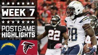getlinkyoutube.com-Chargers vs. Falcons (Week 7) | Game Highlights | NFL