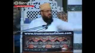 Wahhabi Shaitan Tauseef ur Rehman refuted by Syed Muzaffar Shah