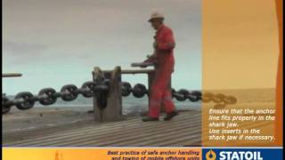 getlinkyoutube.com-6. Anchor Handling - Anchor Line in Shark-Jaw.