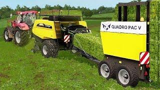Grass Baling in United Kingdom