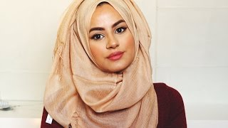 getlinkyoutube.com-THREE EASY HIJAB STYLES! | Hijab Hills
