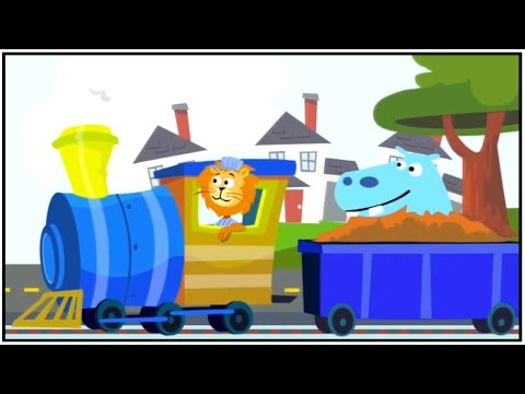Zoo Train: 3D Learn Numbers iPad App Demo: Educational Videos for kids. iPad, iPhone apps demos.