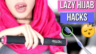 getlinkyoutube.com-10 Lazy Hijab Hacks Every Muslim Girl Should Know!!
