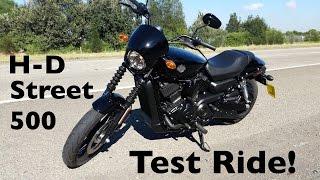 getlinkyoutube.com-Harley-Davidson Street 500 Test Ride | The Gateway to H-D Ownership!
