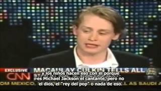 getlinkyoutube.com-MJsANGELS - LARRY KING ENTREVISTA A MACAULAY CULKIN POR EL JUICIO CONTRA MICHAEL JACKSON 27/05/2004