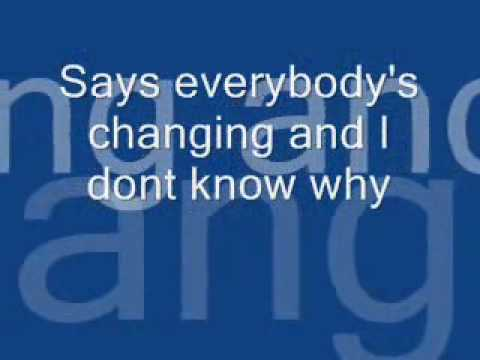 Keane-Everybody's Changing