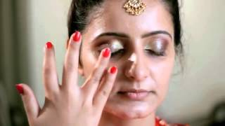 getlinkyoutube.com-Bridal makeup tutorial for an Indian Bride