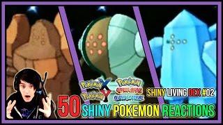 getlinkyoutube.com-50 Shiny Pokemon Live Reactions! | Shiny Living Dex #51-100 | Pokemon X and Y - Pokemon ORAS