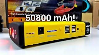 getlinkyoutube.com-50800mAh Jump Starter - Amazing Power Bank For All Uses!