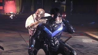 getlinkyoutube.com-Batman Arkham Knight: Penguin Boss Fight (4K 60fps)