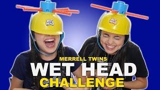 getlinkyoutube.com-WET HEAD CHALLENGE - Merrell Twins