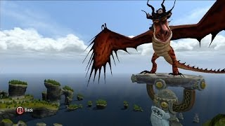 getlinkyoutube.com-How to Train Your Dragon 2: The Video Game - Hookfang   Open World Free Roam Gameplay [HD]