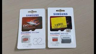 getlinkyoutube.com-How to identify Fake Samsung Evo Plus 32 GB Micro SD card easily