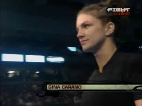 Pre/Post-fight interviews from Gina Carano vs. Julie Kedzie