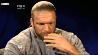 Triple H Reacts to Randy Orton Attack