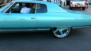 "getlinkyoutube.com-Outrageous 71 Chevy Caprice Donk on 26"" Forgiatos - 1080p HD"