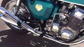 getlinkyoutube.com-2016-10-15 CB750Four K0仕様 Vintage-Run