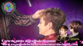 getlinkyoutube.com-Corte de cabello patito version 2013 degrafilado desvanecido y texturizado