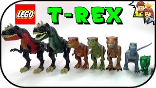 getlinkyoutube.com-LEGO Tyrannosaurus Rex Dinosaur Collection
