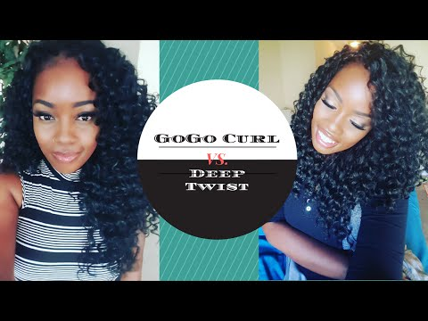 CROCHET || GOGO CURL VS. DEEP TWIST