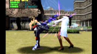 getlinkyoutube.com-Project Justice (Sega Dreamcast): All Character Burning Vigor Attacks