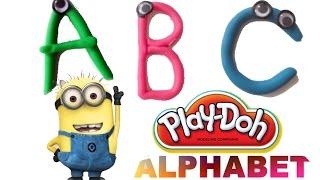 getlinkyoutube.com-Play Doh Alphabet ABC with Minions - Despicable Me