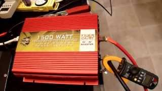 getlinkyoutube.com-OSP Tiger Claw 1500W Pure Sine Inverter Unboxing and Review
