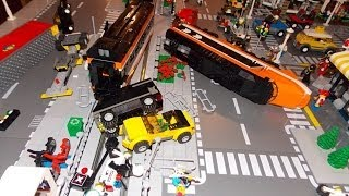 getlinkyoutube.com-More LEGO Train Crashes