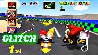 Mario Kart 64 Glitches Errores y Curiosidades - 2014