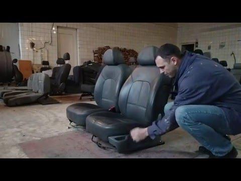 P407-3 - Peugeot 407 - передние кожаные сиденья