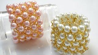 getlinkyoutube.com-PandaHall Jewelry Making Tutorial Video--Make a Chain Bracelet with Pearl Beads for Bridesmaids