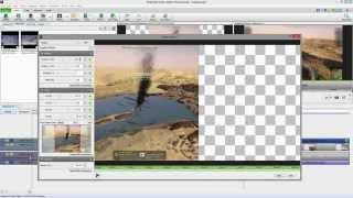 getlinkyoutube.com-VideoPad Video Editor (3.xx) Free Split-Screen Tutorial [English]