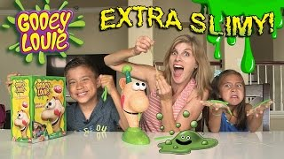 getlinkyoutube.com-GOOEY LOUIE with EXTRA SLIME!!! Super Messy Louie Brains!