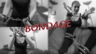 getlinkyoutube.com-BONDAGE Fesselalternativen: Polizei Handschellen und Leder Manschetten
