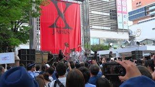 getlinkyoutube.com-X JAPAN 2014.08.17 新宿ゲリラライブ(ダイジェスト)
