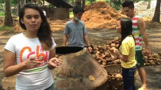 getlinkyoutube.com-Coconut shell charcoal making