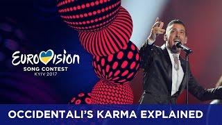 Occidentali's Karma explained by Francesco Gabbani width=
