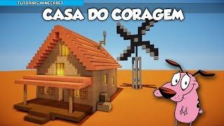 getlinkyoutube.com-Tutoriais Minecraft: Como Construir a Casa do Coragem, O Cão Covarde!