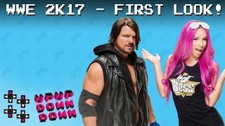WWE 2K17 First Look: AJ Styles vs. Sasha Banks: Part 1 — Gamer Gauntlet