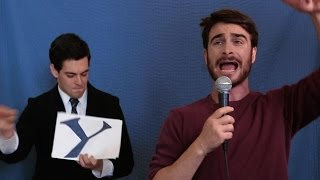 flushyoutube.com-Daniel Radcliffe Raps About Harry Potter [Applecomedy]