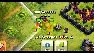 getlinkyoutube.com-MAXING AIR SWEEPER | Clash Of Clans | NEW UPDATE